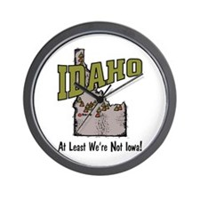 Idaho - Funny Saying Wall Clock