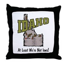 Idaho - Funny Saying Throw Pillow