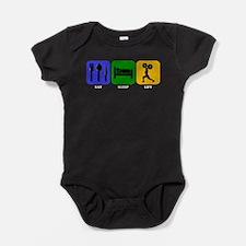 Eat Sleep Lift Baby Bodysuit