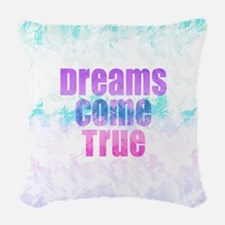 Dreams Come True Woven Throw Pillow