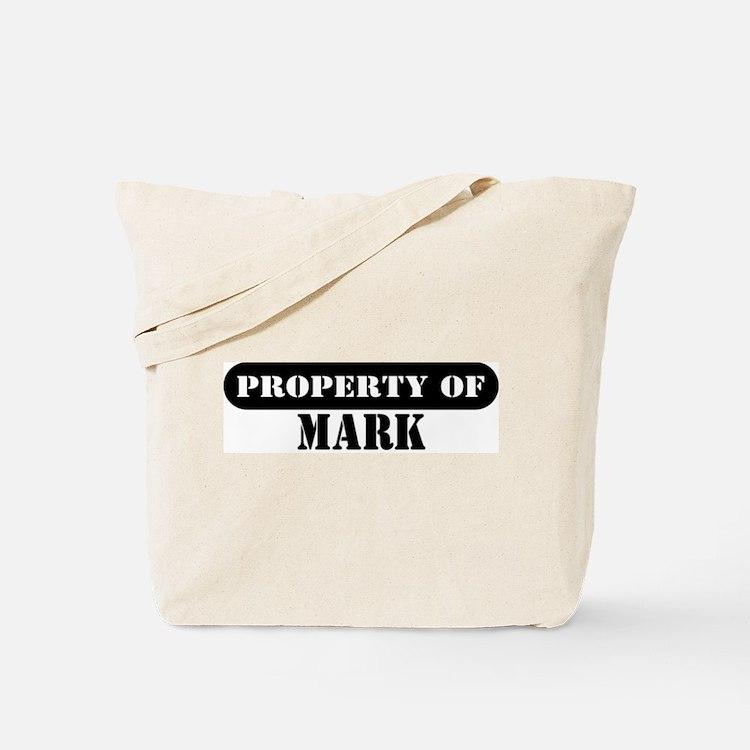 Property of Mark Tote Bag