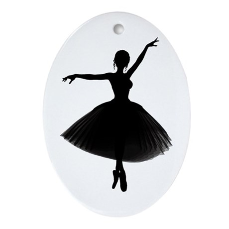 BALLERINA Oval Ornament