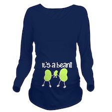 Baby Bean Long Sleeve Maternity T-Shirt