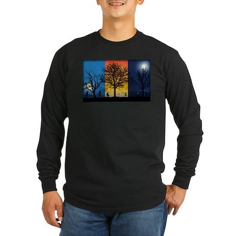 Disc Golfer X-Ray Long Sleeve T-Shirt