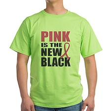 Pink New Black T-Shirt