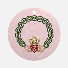 Claddagh Ornament (Round)