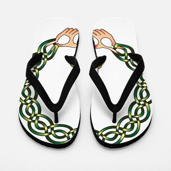 Claddagh Flip Flops