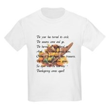 Thanksgiving Poem T-Shirt