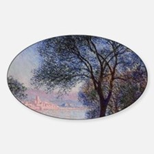 Monet - Antibes Seen from the Salis Decal