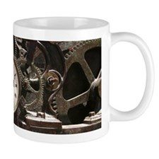 Industrial Clock/Gears Small Mug