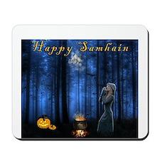 Happy Samhain 03 Mousepad