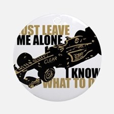 Kimi Raikkonen - Just Leave Me Alone Ornament (Rou