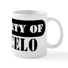 Property of Marcelo Small Mug