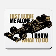 Kimi Raikkonen - Just Leave Me Alone Mousepad