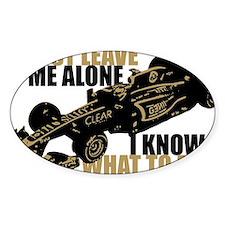 Kimi Raikkonen - Just Leave Me Alone Decal