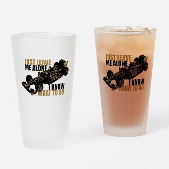 Kimi Raikkonen - Just Leave Me Alone Drinking Glas