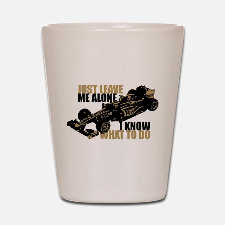 Kimi Raikkonen - Just Leave Me Alone Shot Glass