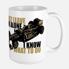 Kimi Raikkonen - Just Leave Me Alone Mugs