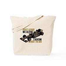 Kimi Raikkonen - Just Leave Me Alone Tote Bag