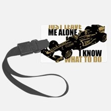 Kimi Raikkonen - Just Leave Me Alone Luggage Tag