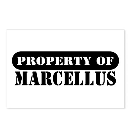 Property of Marcellus Postcards (Package of 8)