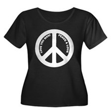 Love You Man Peace Sign T
