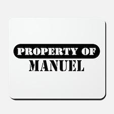 Property of Manuel Mousepad