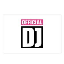 Official DJ Postcards (Package of 8)
