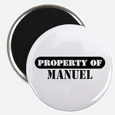 Property of Manuel Magnet