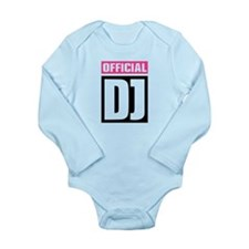 Official DJ Long Sleeve Infant Bodysuit