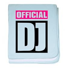 Official DJ baby blanket
