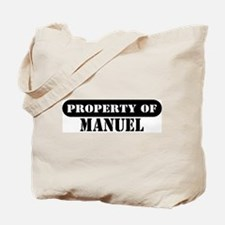 Property of Manuel Tote Bag