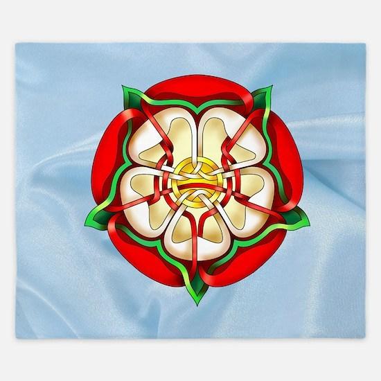 Tudor Rose King Duvet
