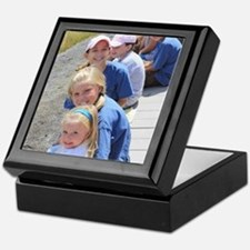 Add your Square Photo Keepsake Box