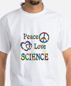 Peace Love SCIENCE Shirt