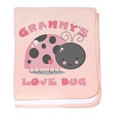 Grammy's Love Bug baby blanket