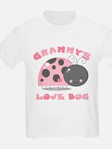 Grammy's Love Bug T-Shirt