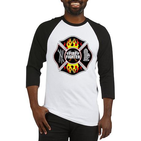 FireFighter Shield Baseball Jersey
