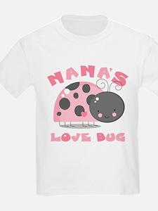 Nana's Love Bug T-Shirt