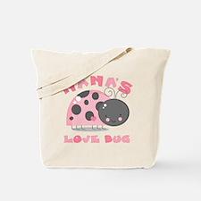Nana's Love Bug Tote Bag