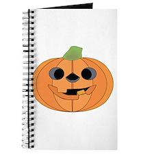 Halloween Carved Pumpkin Journal