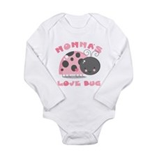 Nonna's Love Bug Long Sleeve Infant Bodysuit