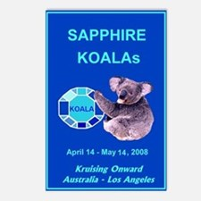 Sapphire KOALA 2008 - Postcards (Package of 8)