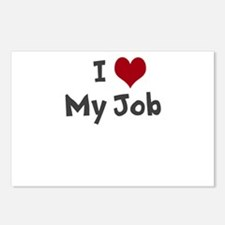 I Heart My Job Postcards (Package of 8)