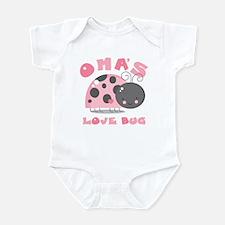 Oma's Love Bug Infant Bodysuit