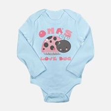 Oma's Love Bug Long Sleeve Infant Bodysuit