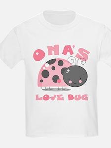 Oma's Love Bug T-Shirt