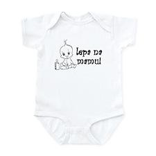 Lepa Na Mamu - Cute Like My M Infant Bodysuit
