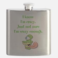 Crazy Enough? Flask