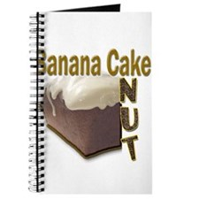 Banana Cake Nut Journal